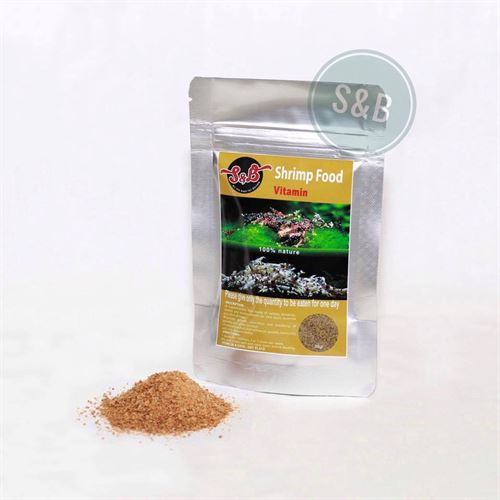 S & B Shrimp Food - Vitamin Powder - 30 g