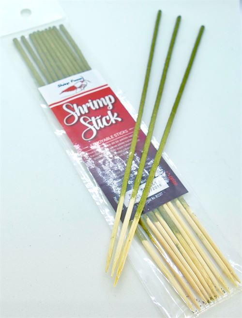 Shrimp Lolly  Stick RED (10 stk)
