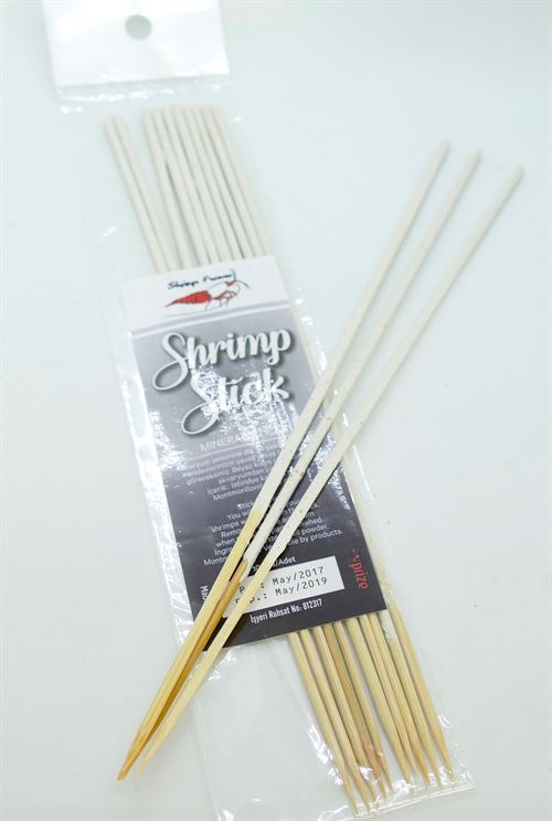 Shrimp Lolly  Stick WHITE (10 stk)