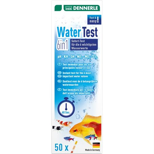 Dennerle Water Test 6in1