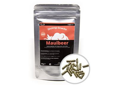 GlasGarten Shrimp Snacks Maulbeer (30g)